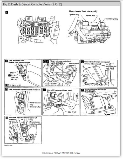 wiring diagram nissan x trail free wiring diagrams