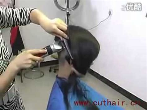 barber girl nape shave youtube beautiful woman like to shave her nape bald and clean