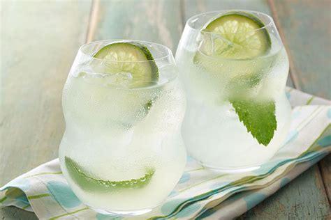 Light Mojito by Mojito Lemon Lime Cocktail Kraft Recipes