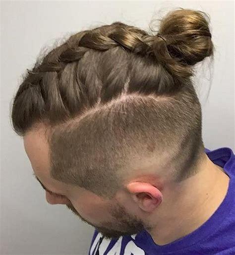 hairsytle kepang rambut kepang rambut pria yang lagi jadi trend terbaru keren