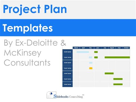Project Plan Templates In Powerpoint Excel Project Plan Template Powerpoint