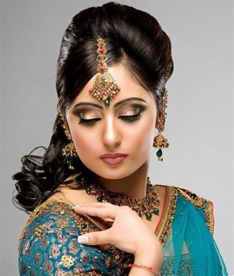 south asian wedding hairstyles asian bridal hair style with bun braid and backcombing