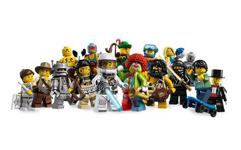 Lego Minifigure Seri 1 Complete Set series 1 minifigures