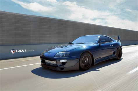 toyota supra toyota supra looks mean on adv 1 wheels autoevolution