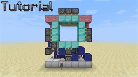 How To Make A 3x3 Piston Door by Compact 3x3 Spiral Door