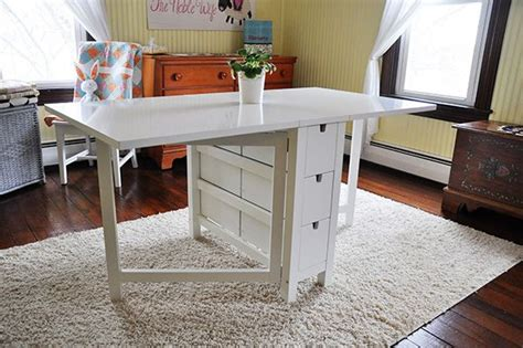 studio gate leg table the noble wife new studio space quilt room cutting