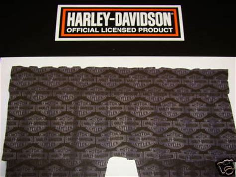 harley davidson window curtains boughtitonawhim harley davidson tattoo window valance