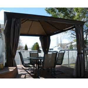 Patio Gazebo Costco Costco Gazebo Replacement Canopy Garden Winds Ask Home Design