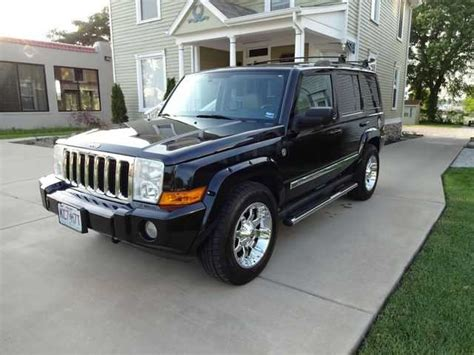 Jeep Commander For Sale By Owner 2006 Jeep Commander Limited For Sale From Springfield