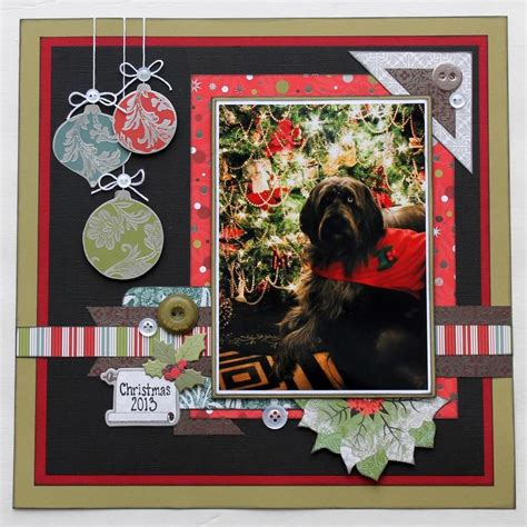scrapbook layout christmas christmas scrapbook layout sei scrapbooking pinterest