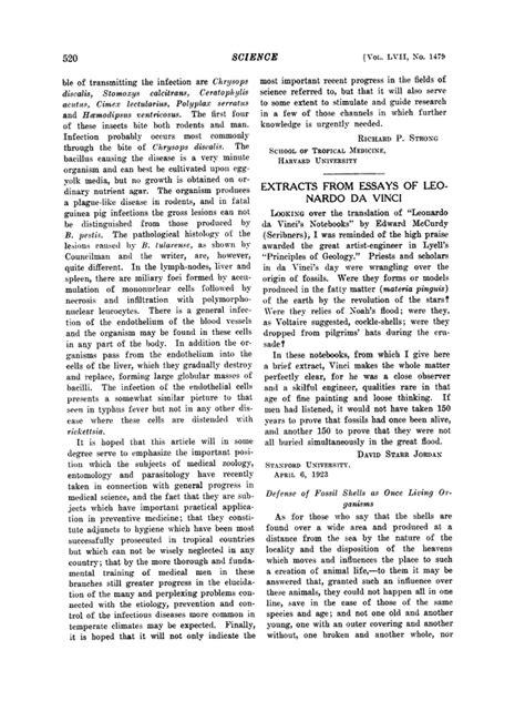 leonardo da vinci biography essay extracts from essays of leonardo da vinci science