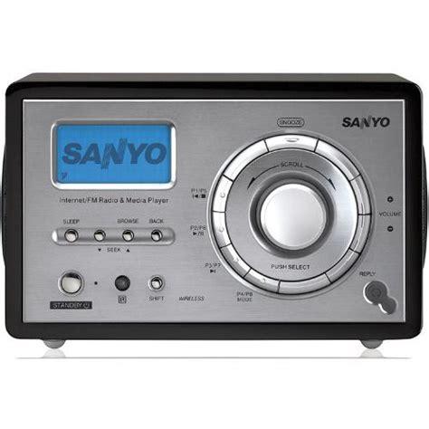 interenet radio sanyo wifi internet radio r227 r227 b h photo video