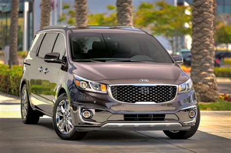 kia launches new minivan 2015 sedona changes specs