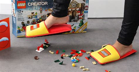 lego slippers for lego creates anti lego slippers to protect your from