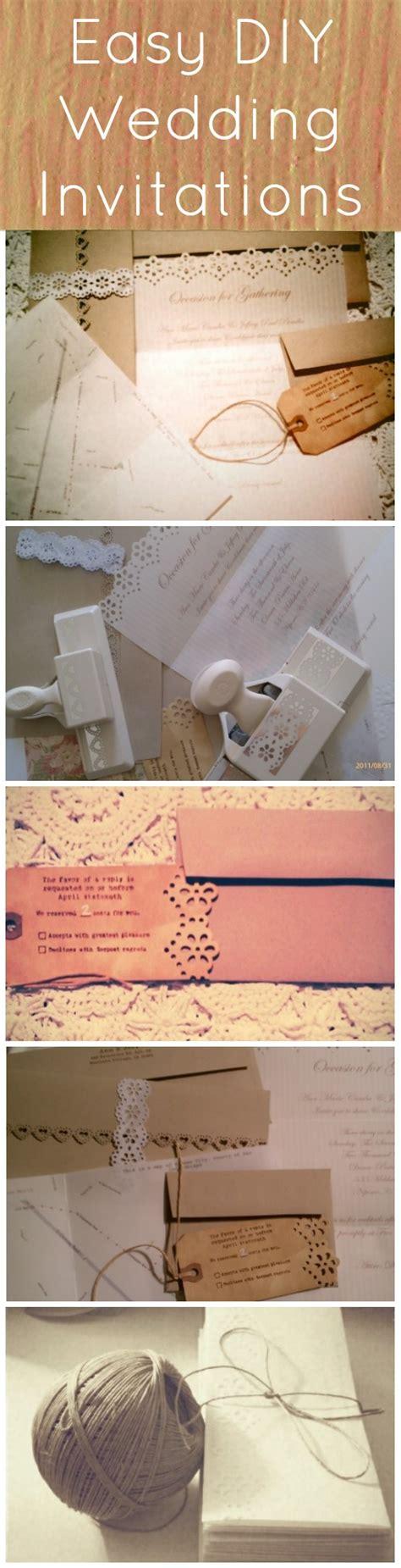 simple wedding invitations diy diy vintage inspired wedding invitations rustic wedding chic
