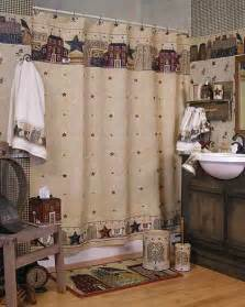 Primitive Bathroom Ideas by Primitive Shower Curtains Knowledgebase