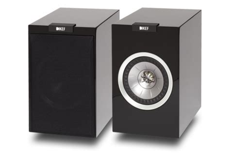 kef r100 bookshelf speakers review test