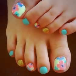 25 cute and adorable toenail art designs