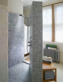 Small bathroom designs with walk in shower doorless walk more