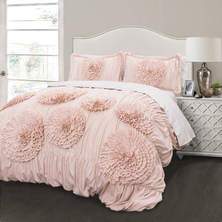 Blush Pink Comforter by Serena Comforter Pink Blush 3 Set Walmart