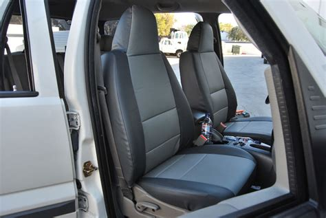 jeep liberty seat covers 2002 jeep liberty sport 2002 2010 iggee s leather custom fit