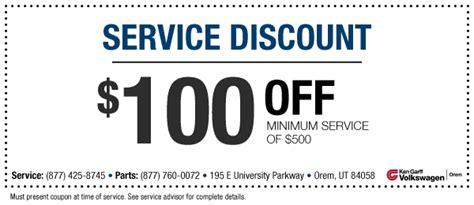 volkswagen service deals coupons vw service spa deals in chandigarh