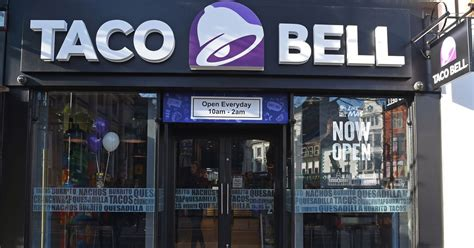 Cq Live Liverpool Bold Microzine by Fast Food Taco Bell Hopes To Open Its Store In
