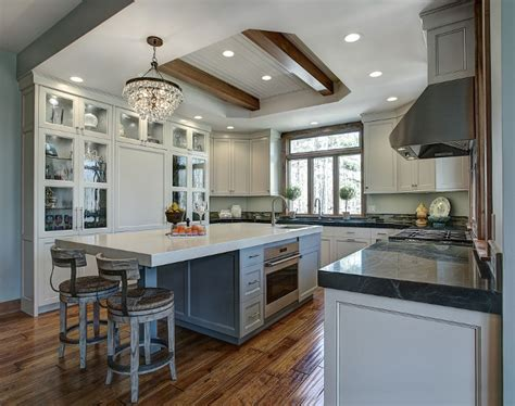 home bunch transitional gray kitchen remodel home bunch interior