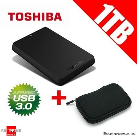 Hardisk Toshiba 1 toshiba 1tb canvio usb 3 0 portable drive with bag pouch shopping shopping
