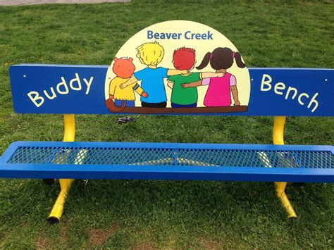 buddy bench at school beaver creek elementary school christian s buddy benchchristian s buddy bench