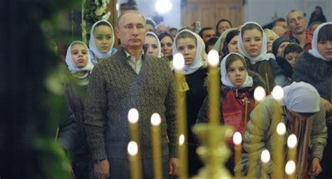 putin wishes orthodox christians  merry christmas  russian orthodox church website