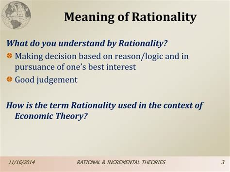 Ppt Unit 4 Rational Amp Incremental Planning Theories