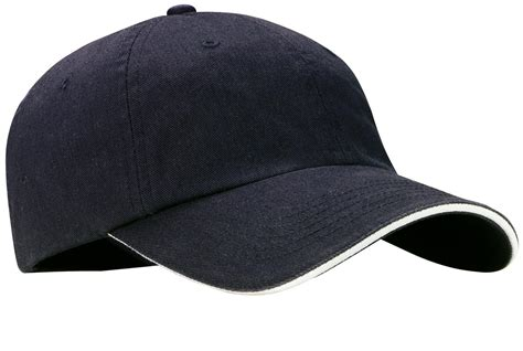 port authority c830 mens sandwich bill cap with striped