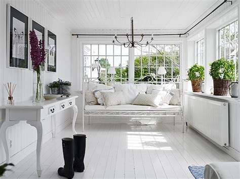 painted floors darling swedish cottage by the sea see this house