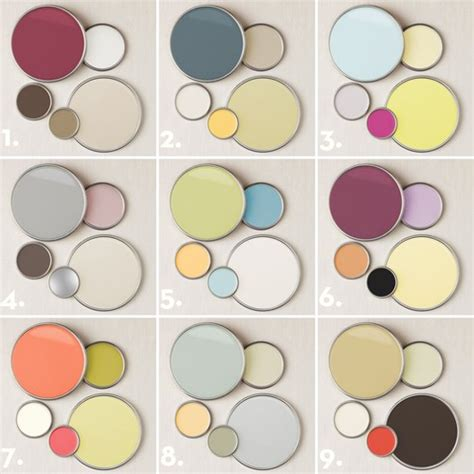 home decorating color palettes 9 designer chosen paint color palettes for adding subtle