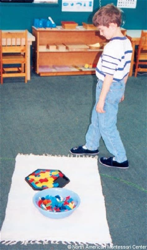 10 Walk Mat - the importance of the work mat in the montessori prepared