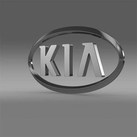 hyundai kia logo kia logo 3d model buy kia logo 3d model vestidos de
