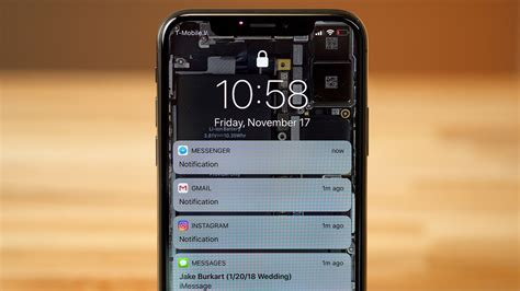 how to disable lockscreen notifications on iphone x