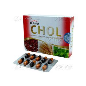 Dijamin Nutrafor Chol Herbal Penurun Kolesterol jual beli nutrafor chol k24klik