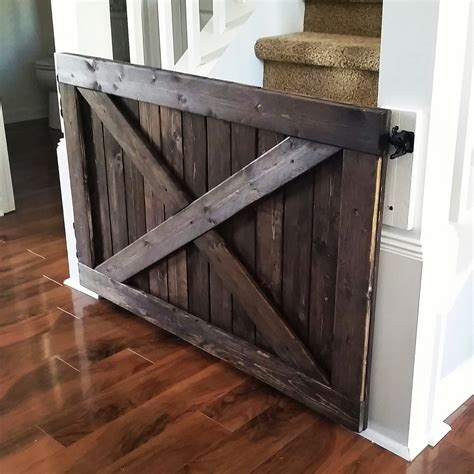 Barn Door Baby Gate Barn Door Baby Gate