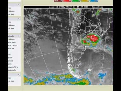 imagenes satelitales goes13 imagenes satelite goes13 video tormenta 19312 wmv youtube