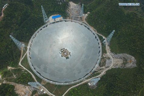 fast epp world s tallest largest single aperture telescope installed china org cn