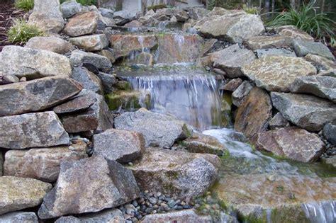 cross section of a waterfall backyard pondless fountains stl gt gt pondless waterfalls uk gt gt