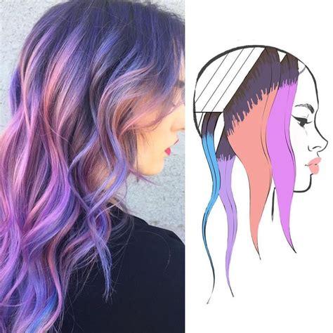 hair color placement les 180 meilleures images du tableau coupe couleur