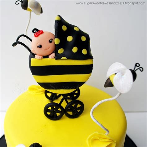 Bumble Bee Cakes For Baby Shower by Bumble Bee Baby Shower Cake Cakecentral