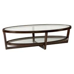 Oval Glass Coffee Table Bernhardt Zola Oval Coffee Table Coffee Tables At Hayneedle