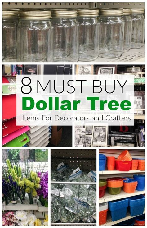 dollar tree crafts for 8 must buy dollar store items for decorators and crafters