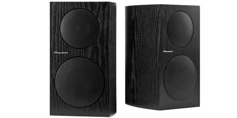 sp bs21 lr bookshelf loudspeakers pioneer electronics usa