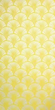 design house skyline yellow motif wallpaper eine gelbe tapete im schlaf oder wohnzimmer wirkt sehr
