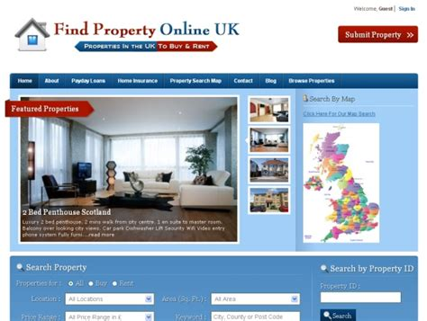 property real estate classified ads website for sale